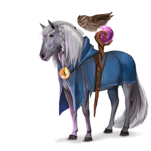 riding pegasus enchanter